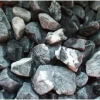 Мрамор чёрный галтованный 10-20 мм